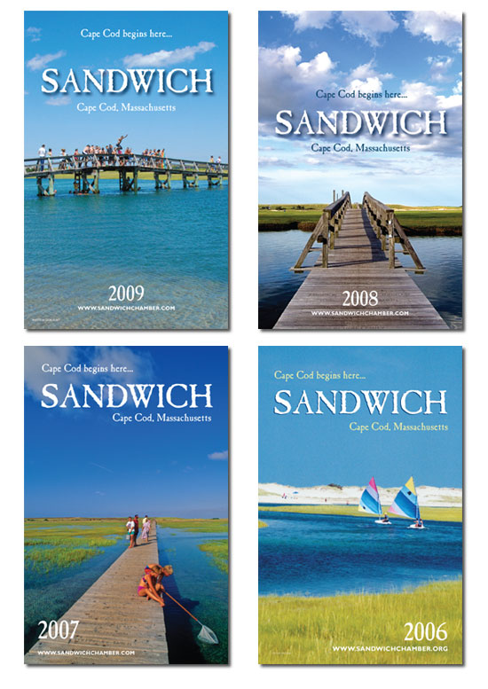 Sandwich Guidebook covers